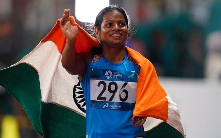 Dutee Chand admits she's in a same-sex relationship; Twitterati hails sprinter's 'courage'  Read more at: //economictimes.indiatimes.com/articleshow/69405685.cms?utm_source=contentofinterest&utm_medium=text&utm_campaign=cppst