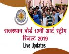 Rajasthan Board 12th Arts Results 2019 RBSE Declared LIVE UPDATES: राजस्थान बोर्ड 12वीं आर्ट स्ट्रीम का रिजल्ट Enter Your Roll Number Check Result Here