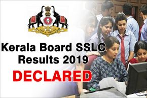 Check Here Kerala Board SSLC 10th Results 2019: DHSE declared the results, check your mark sheet on newsstate.com